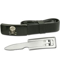 BELT BUCKLE KNIFE 53″ ADJUSTABLE NYLON BELT