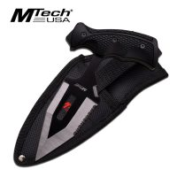 MTech USA TACTICAL FIXED BLADE KNIFE 7.5″ OVERALL