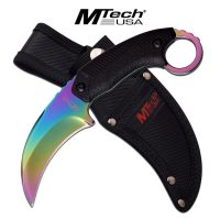 "MTECH USA FIXED BLADE KARAMBIT KNIFE 8"""" OVERALL"