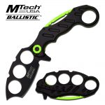 MTech USA SPRING ASSISTED KNIFE 5.5″ CLOSED