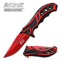 MTech USA SPRING ASSISTED KNIFE 4.75″ CLOSED