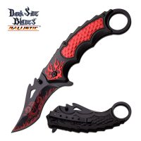 DARK SIDE BLADES DS-A051RD SPRING ASSISTED 5″ CLOSED