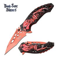 DARK SIDE BLADES DS-A057RD SPRING ASSISTED KNIFE