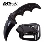 MTech USA MT-20-63BK FIXED BLADE KNIFE 5″ OVERALL
