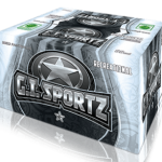 GI SPORTZ 1-STAR RECREATIONAL PAINTBALLS 68CAL