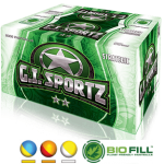 GI SPORTZ 2-STAR STRATEGIC PAINTBALLS 68CAL