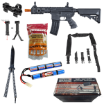 Airsoft Rifle Starter Combo