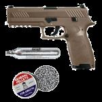 Sig P320 Fde 4.5mm Pellet Pistol Combo