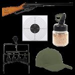 Daisy Buck BB Rifle Target Combo