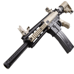 MILSIG M17 ELITE 2-TONED PAINTBALL MARKER .68CAL