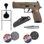 Sig P320 Fde 4.5mm Pellet Pistol Combo With Target
