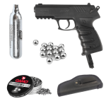 Pellet Dual Air Pistol 4.5mm Combo